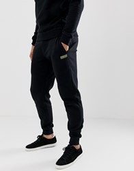 Barbour International Sweat Joggers In Black