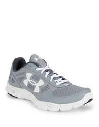 Under Armour Engage Lace Up Sneakers Steel