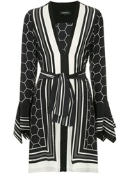 Kitx Pollen Printed Fitted Dress Black