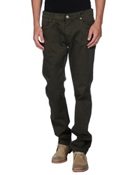 Dirk Bikkembergs Casual Pants Military Green