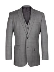 Racing Green Grey Lilac Check Jacket