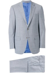 Canali Classic Two Piece Suit Grey