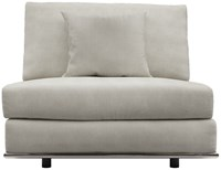 Modloft Perry Modular Armless Sofa Chair