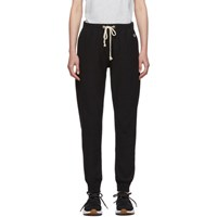 Champion Reverse Weave Black Elastic Cuff Lounge Pants