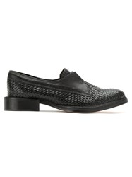 Sarah Chofakian Leather Loafers Black