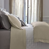 Yves Delorme Triomphe Honey Duvet Cover Super King