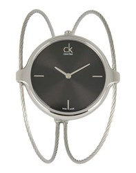 Ck Calvin Klein Timepieces Wrist Watches Women Black