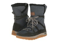 Jack Wolfskin Rhode Island Winter High Dark Steel Women's Shoes Brown