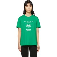 Givenchy Green Spirit T Shirt