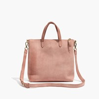 Madewell The Suede Transport Crossbody Dusty Clay