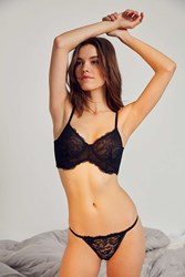 Out From Under Elsa Lace Bikini Black