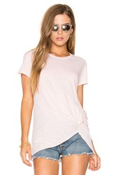 Stateside Jersey Twist Tee Peach