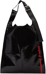 Raf Simons Black Venomous Friday Tote