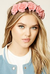 Forever 21 Floral Headband Pink