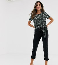 Vila Straight Leg Jeans Black