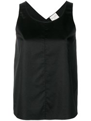 Forte Forte Sleeveless Blouse Black
