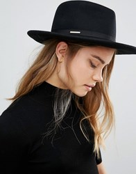 Ted Baker Mini Bow Detail Fedora Black