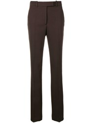 Calvin Klein 205W39nyc Side Stripe Flared Trousers Brown