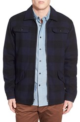 Men's Rvca 'Winnetka' Check Zip Jacket