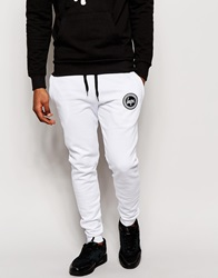 Hype Skinny Joggers White