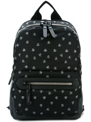 Lanvin Spider Print Backpack Black