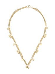 Isabel Marant Double Chain Ball Necklace 60
