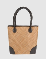 Cuple Large Fabric Bags Beige