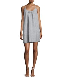Soft Joie Jorell Sleeveless Linen Dress Caviar Porcelain