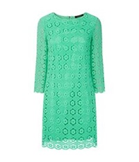 Juicy Couture Daisy Crochet Dress Green