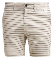 Pier One Shorts Sand Bordeaux