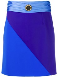 Fausto Puglisi Colour Block Mini Skirt 60