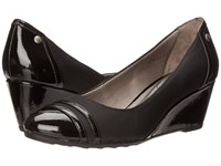 Lifestride Juliana Black Micron Women's Wedge Shoes