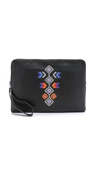 Ash Talulla Large Clutch Black