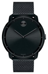 Movado Men's 'Bold' Mesh Strap Watch 44Mm