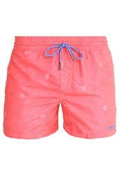 Brunotti Crunot Swimming Shorts Flamingo Mottled Red