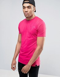 11 Degrees Logo T Shirt In Red