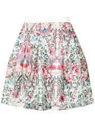 Ted Baker Sadah Layered Bouquet Full Skirt Cream