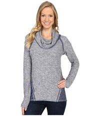 Kuhl Nova Pullover Blue Depths Women's Long Sleeve Pullover