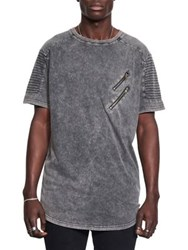 Nana Judy Fast Lane Cotton Jersey Tee Grey