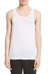Atm Anthony Thomas Melillo Men's Lightweight Jersey Tank Top White