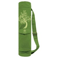 Gaiam Tree Of Wisdom Canvas Mat Bag Green