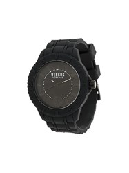 Versus Round Shape Watch Black