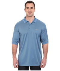 Columbia Perfect Cast Polo Extended Steel Men's Clothing Silver