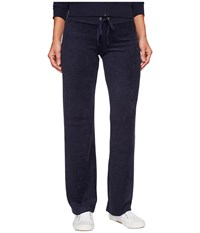 Juicy Couture Mar Vista Microterry Pants Regal Women's Casual Pants Navy