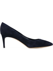 Casadei Pointed Toe Pumps Blue