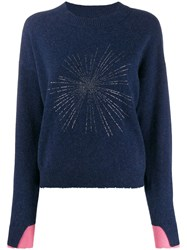 Zadig And Voltaire Gaby C Sweater Blue