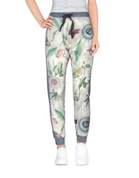 Happiness Trousers Casual Trousers Women Blue
