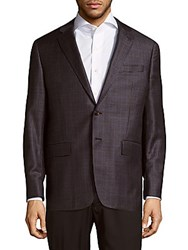 Todd Snyder Mayfair Fit Wool Blazer Dark Grey