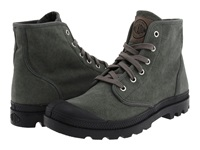 Palladium Pampa Hi Stonewashed Metal Men's Lace Up Boots Black