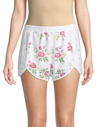 Wildfox Couture Lane Floral Print Shorts Multi